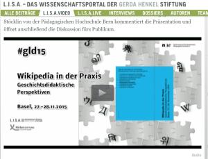 _gld15___Wikipedia_in_der_Praxis__Geschichtsdidaktische_Perspektiven___Panel_1___L_I_S_A__-_Das_Wissenschaftsportal_der_Gerda_Henkel_Stiftung